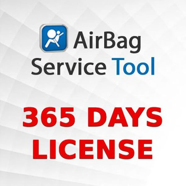 Airbag Service Tool 365 Days License 1
