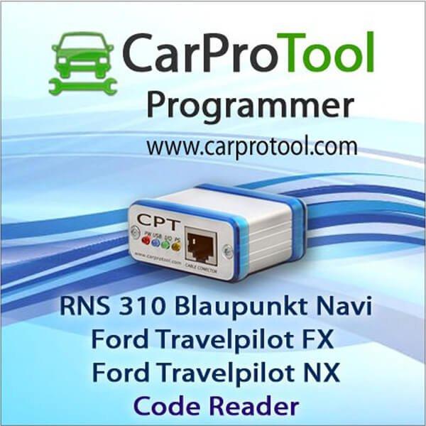 Blaupunkt RNS 310 / Ford Travelpilot FX NX [OMAP5948] Code Reader 2