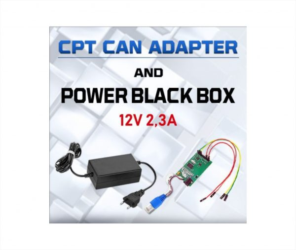 CPT CAN Adapter - Power Black Box 1