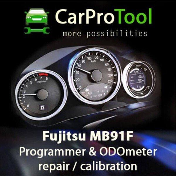 Fujitsu MB91F Programmer Odometer Repair Solution 1