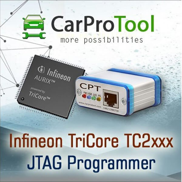 Infineon TriCore TC2xxx JTAG Programmer 2