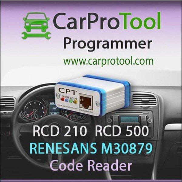 RCD 210 RCD 500 Panasonic Renesas M30879 Code Reader 1