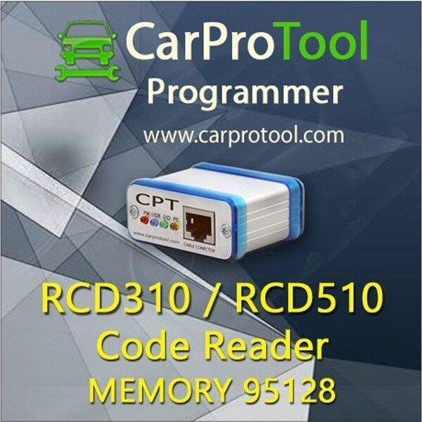 RCD 310 RCD 510 Code Reader 1