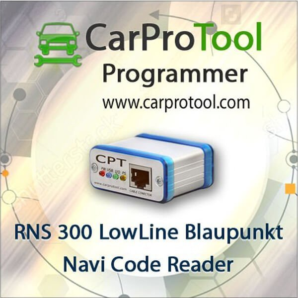 RNS 300 LowLine Code Reader. Activation for CarProTool 1