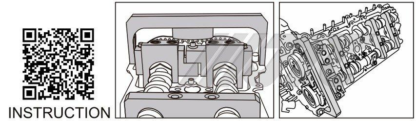 BENZ Engine Timing Tool Set (M177) JTC-4580 2
