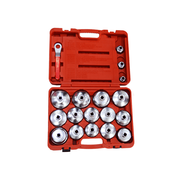 18PCS Oil Filter Wrench Set JTC-4572 1