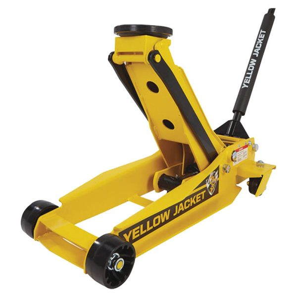 3 Ton / 2700kg Pro Super Duty Garage Jack – Yellow Jacket 3