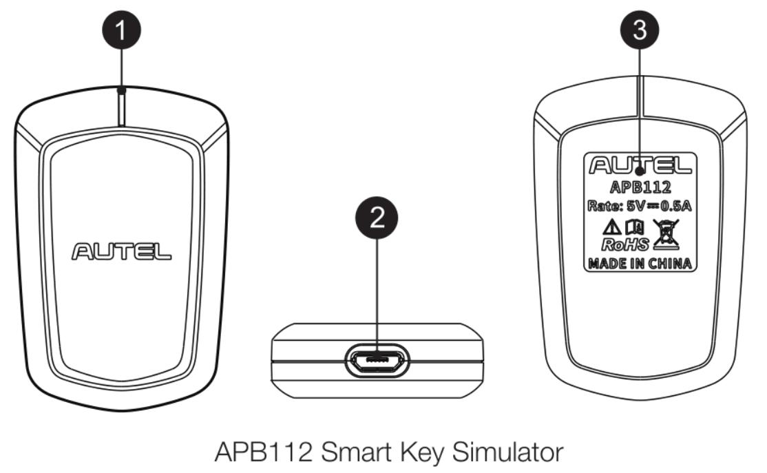 Autel APB112 Smart Key Emulator 1