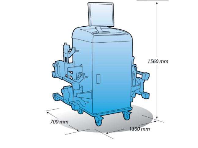 Heshbon HA-710 - Wheel Alignment 2