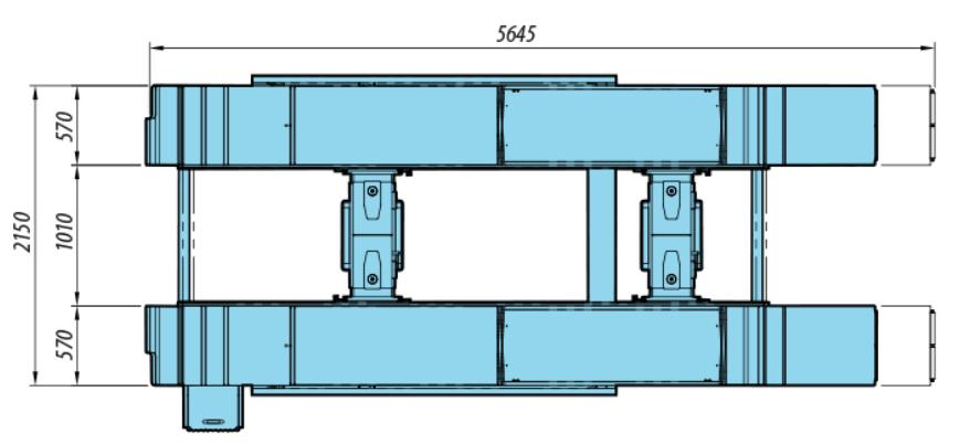 Heshbon HL-52X - Scissor Lift with Alignment 3