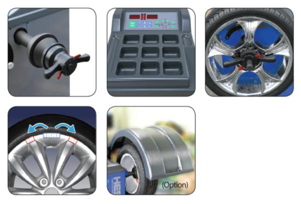 Heshbon HW-103 - Wheel Balancer 2