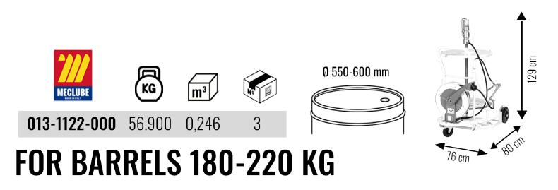 Wheeled Grease Set 013-1122-000 3