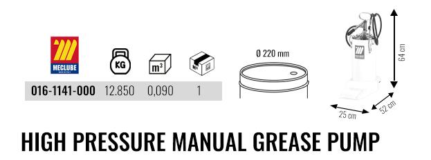 High Pressure Manual Grease Pump 016-1141-000 2