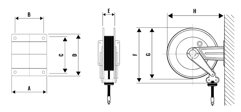 Automatic Hose Reel S-460 3