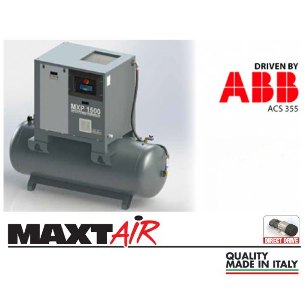 MXP 1000-500 / 10HP - Coaxial Screw Compressor 1