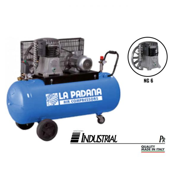 Lapadana - PR500/7.5T - Portable Compressor with NG 7.5HP 1