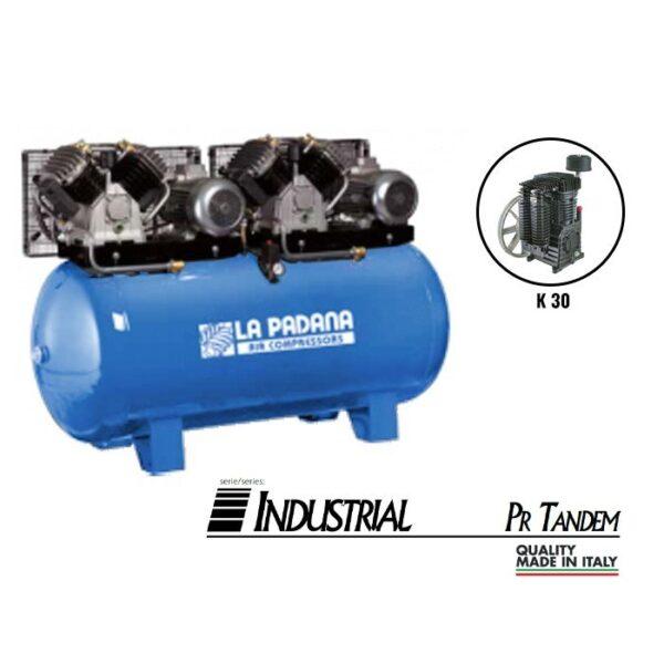 Lapadana - PR500/7.5TTD - Fixed Compressor with NG 7.5+7.5HP 2