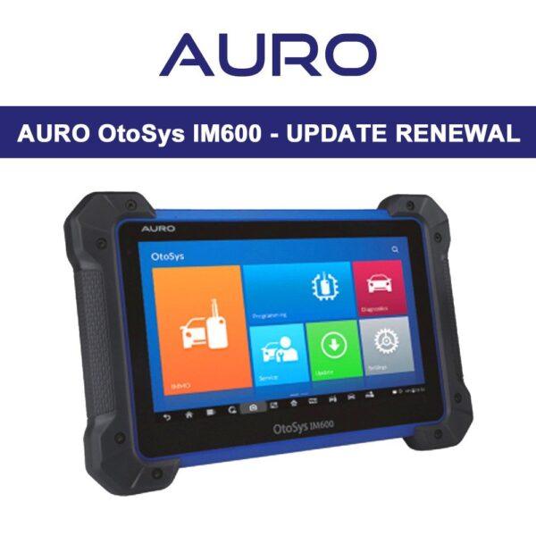 Auro IM600 - Update Renewal 1
