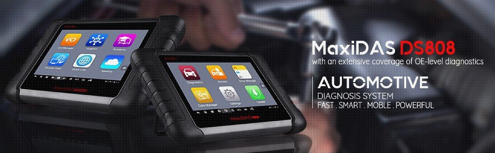 Autel MaxiDAS DS808 Affordable Diagnostic Scan Tool 2