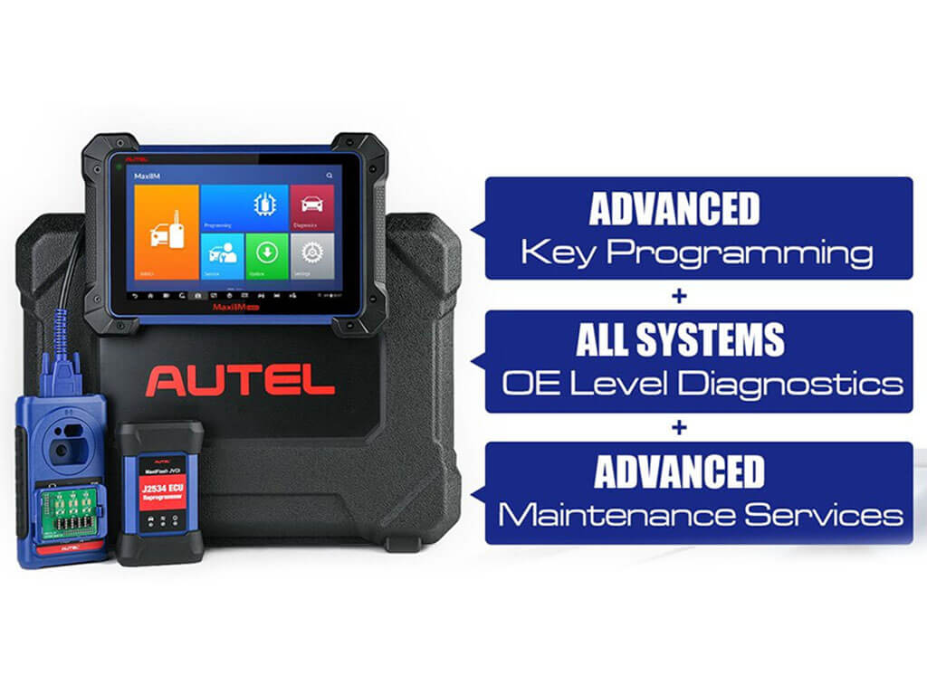Autel MaxiIM IM608 Pro Advanced Immo, Key Coding & Diagnostic Scanner 1